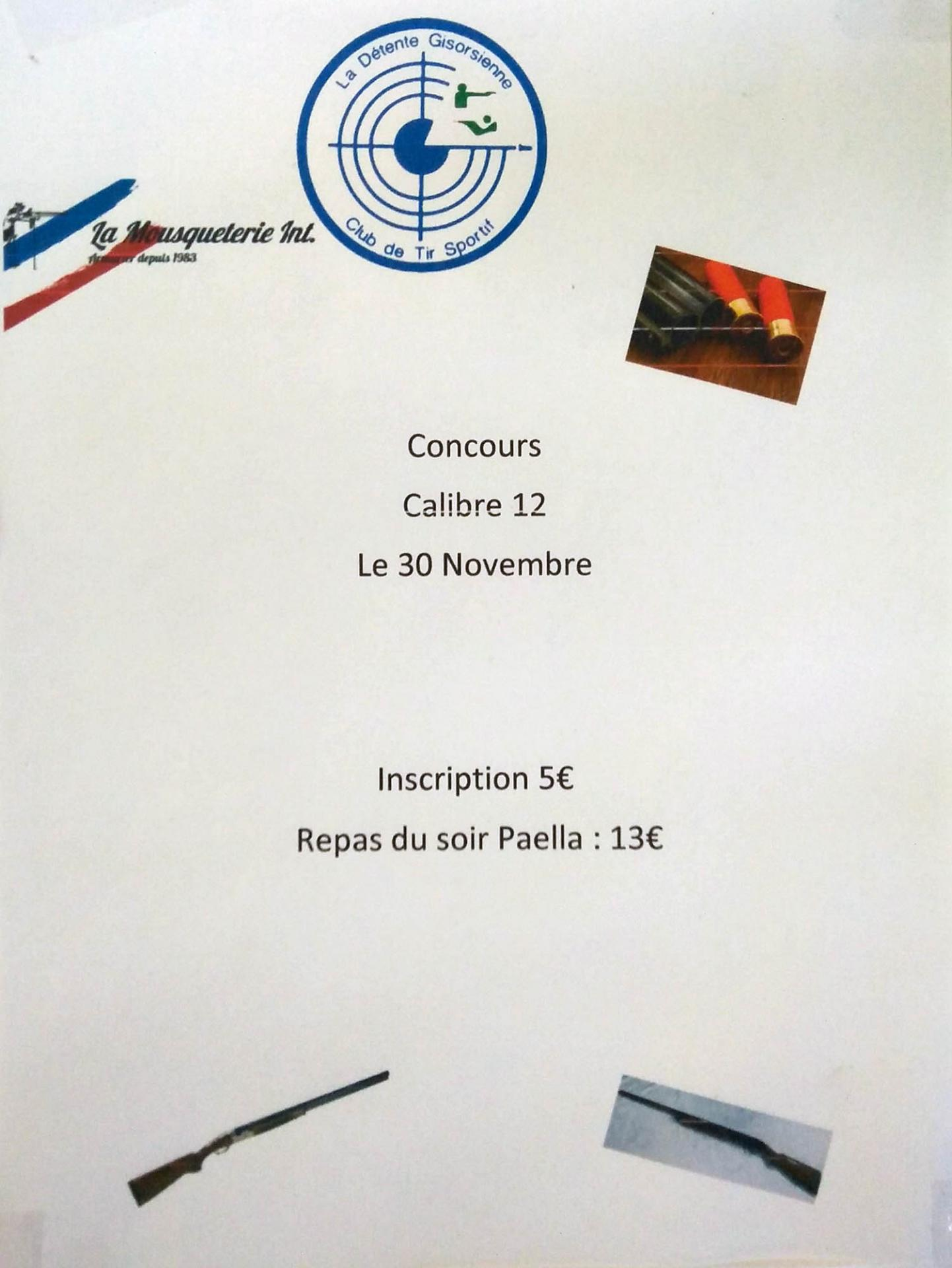 Concours cal12