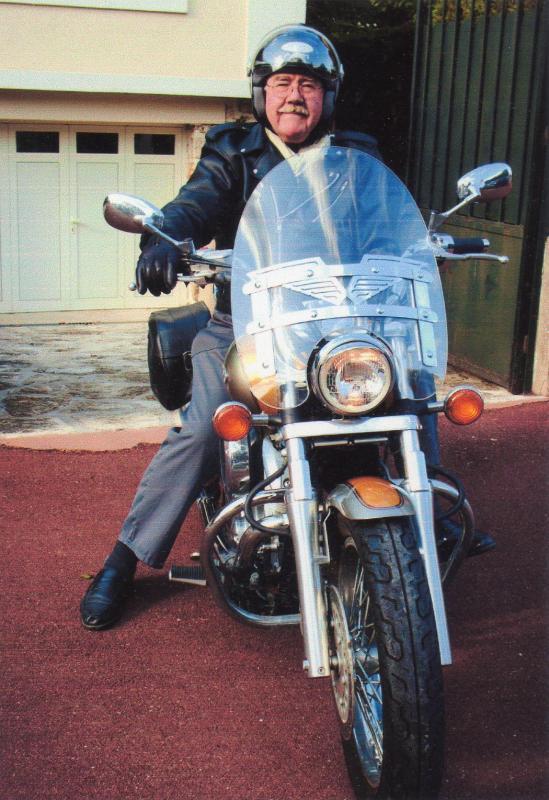 Luc beranger papy biker